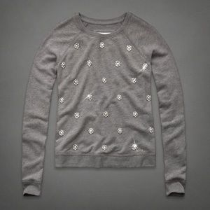 Abercrombie and Fitch jeweled sweater